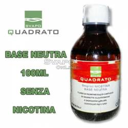 Svapo Quadrato Basic Liquid 100ml Without Nicotine