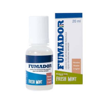 Fumador Fresh Mint Senza Nicotina