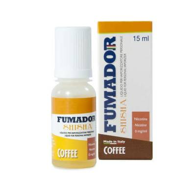 Fumador Shisha Coffee Senza Nicotina