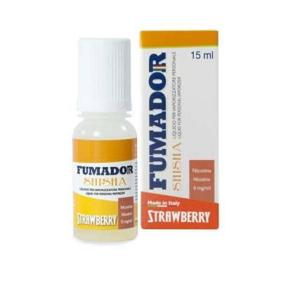 Fumador Shisha Strawberry Senza Nicotina