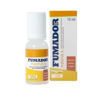 Fumador Shisha Melon 15 ml Nicotine 9mg