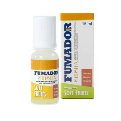 Fumador Shisha Soft Fruits Nicotine 9mg