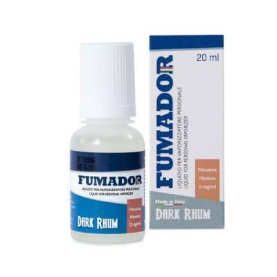 Fumador 20 ml Dark Rum 18 mg Nicotine