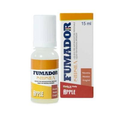 Fumador Shisha Apple 15 ml Nicotine 9mg