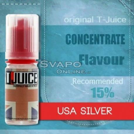T-Juice Flavor USA Silver