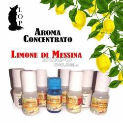 Italian Concentrate Flavor Lemon From Messina 10ml