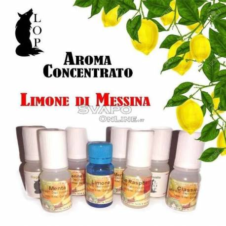 Italian Concentrate Flavor Lop Lemon From Messina