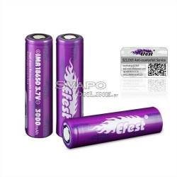 Efest 18650 battery 3000mah Li-ion 35A Flat Top