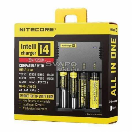 3.7 V Battery Charger Nitecore i4