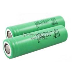 battery INR 18650 20A 2500mah Li-ion