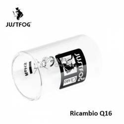 Justfog Q16 Ricambio in Vetro Pyrex