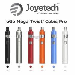 Joyetech eGo Mega Twist Cubis Pro 4ML 2300mah Kit Completo