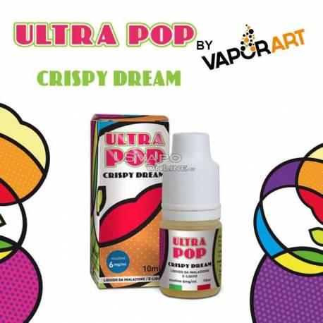 Liquido UltraPop Crispy Dream (Torta Albicocca) 70VG/30PG