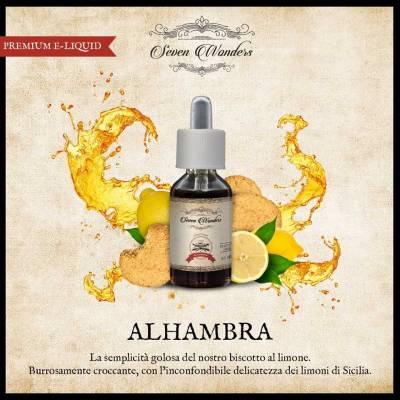 Seven Wonders Alhambra Lemon Cookie (Biscotto al Limone)_1