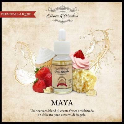 Seven Wonders Maya Fruity Cupcake 8mg Nicotine_1