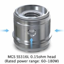 MGS SS316L 0.15 ohm - Ornate (60-180w)