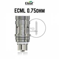 ECML 0.75 Ohm Resistance For the Atomizers Series Melo - iJust - Lemo 3