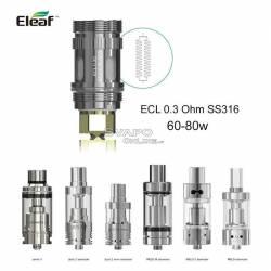 Eleaf ECL 0.3Ohm Resistenza Per Atomizzatori Serie Melo iJust Lemo 3