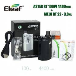 Eleaf Aster RT 100w 4400mAh Kit Con Melo RT 22