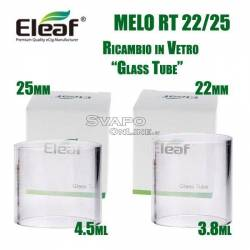 Eleaf Melo RT 22_25 Ricambio in Vetro (Glass Tube)