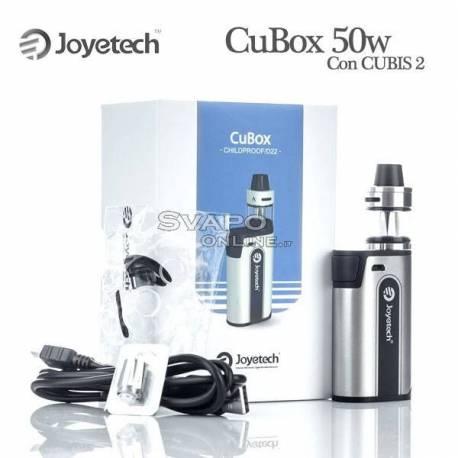 CuBox 50w Joyetech Con CUBIS 2 Atomizzatore