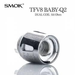 Resistenza SMOK TFV8 BABY Q2 0.6Ohm Dual Coil