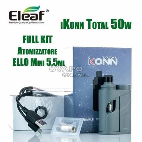 Eleaf iKonn Total con ELLO Mini XL 5.5 ml