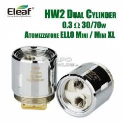Head HW2 0.3 ohm ELLO Mini Atomizer Replacement