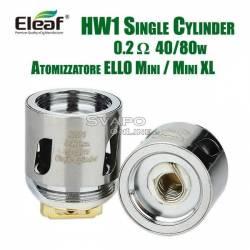 Resistenza HW1 0.2 ohm Eleaf ELLO Mini Atomizzatore