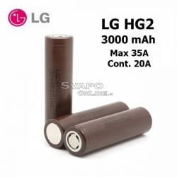 Batteria 18650 LG HG2 3000mah 20A Litio