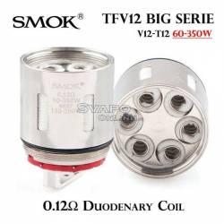 Resistenza SMOK TFV12 T12 0.12Ω Duodenary Coils 350W