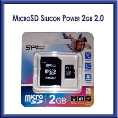 MICRO SD 2GB SILICON POWER 2.0