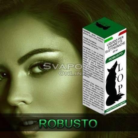 Italian Eliquid Lop Tabacco Robusto