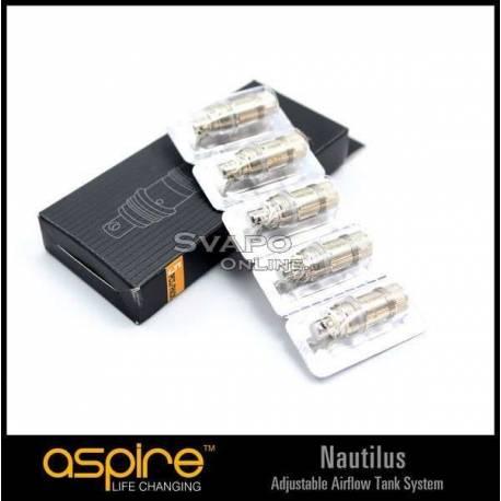Resistenza Aspire BVC Nautilus 5pz